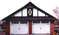 Alliance Garage Doors & Openers -- Clopay Coachman Crossbuck Design